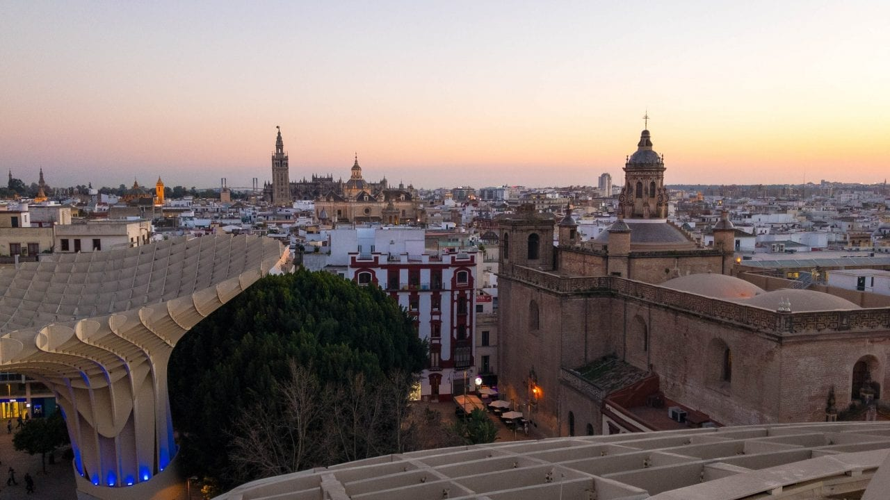 Seville skyline - Fuente: LDV Photos (Flickr)