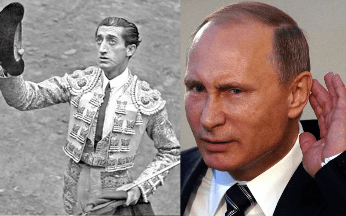 Manolete y Darth Vladimir Putin