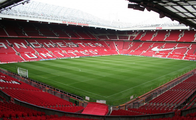 Old Trafford, estadio del Manchester United.