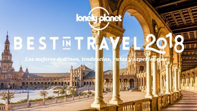 Plaza de España de Sevilla reflejada por la revista Lonely Planet