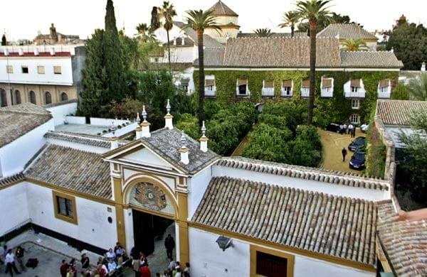 Palacio de las Dueñas, en Sevilla