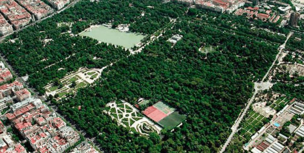 Parque de El Retiro (Madrid).