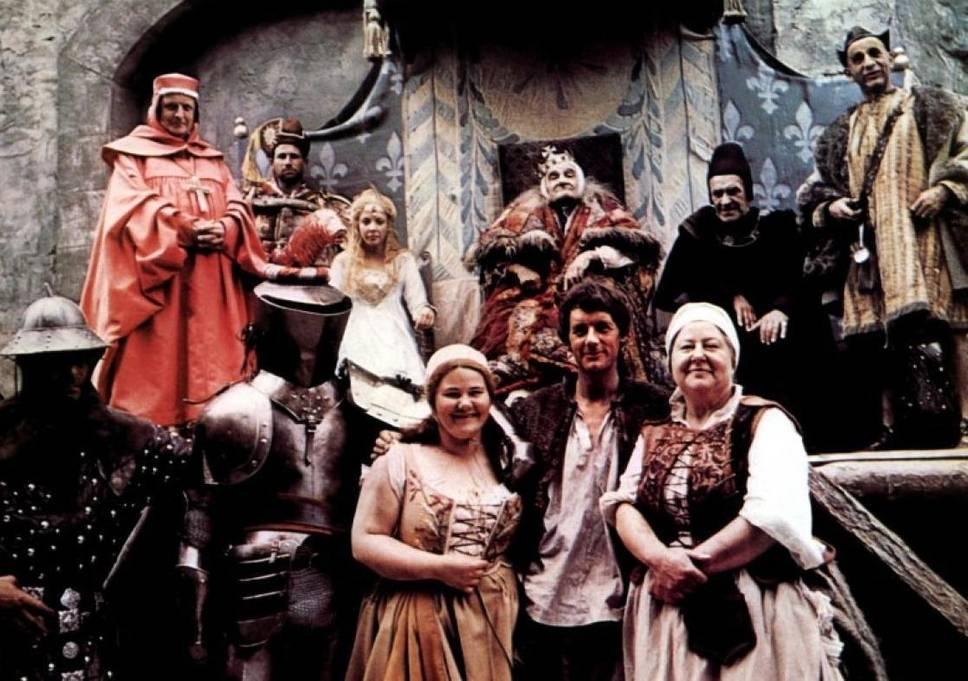 Película 'La Bestia del Reino' (JabberWocky) de Terry Gilliam