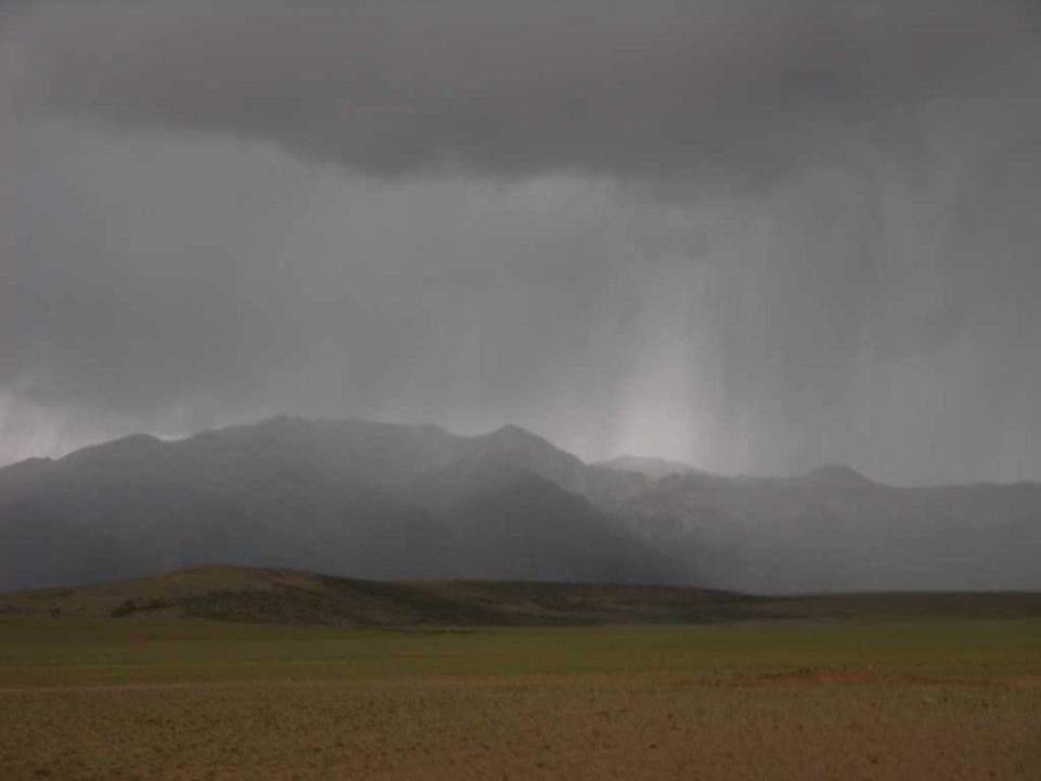 Lluvia en el Tibet