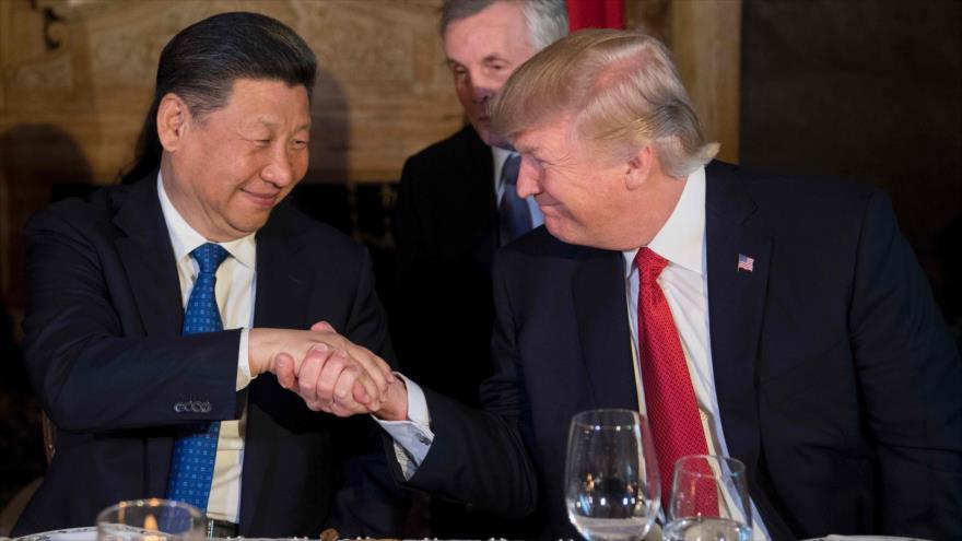 Xi Jinping, presidente de China y Donald Trump, presidente de EEUU