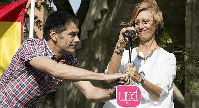 La ex portavoz de UPyD Rosa Díez