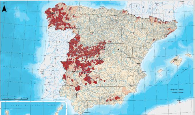 Presencia de radón en España