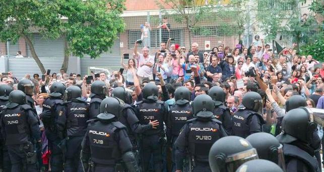 Barcelona en 2017, foto de archivo.