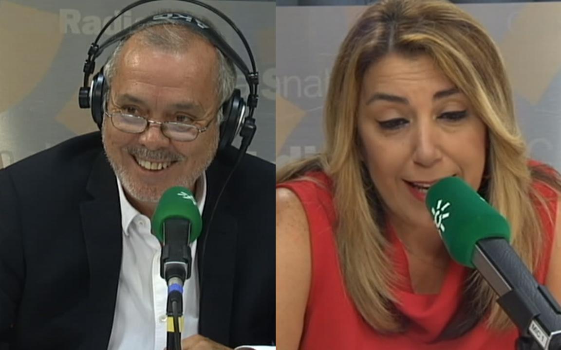 Tom Martín Benítez y Susana Díaz