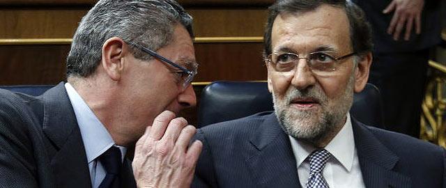 Alberto Ruiz Gallardón y M. Rajoy, destructores de la justicia universal en España