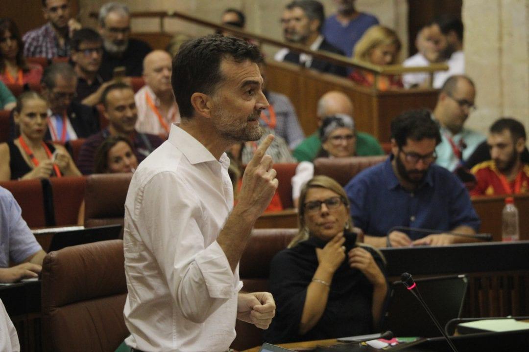 Antonio Maíllo, líder de IU Andalucía