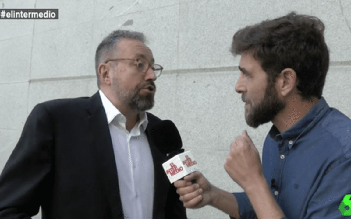Juan Carlos Girauta y Gonzo en el programa El Intermedio