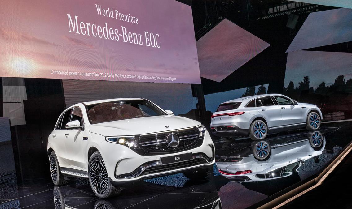 Modelo EQC de Mercedes