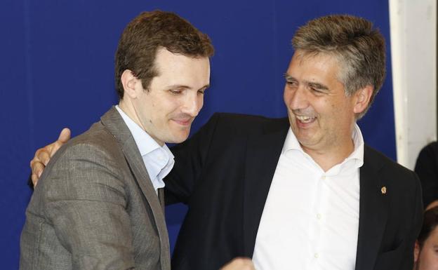 Pablo Casado e Ignacio Cosidó