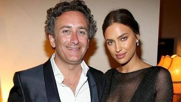 Alejandro Agag de fiesta con Irina Shayk