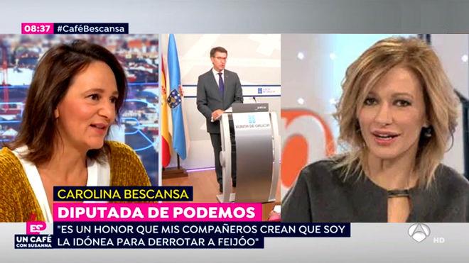 Carolina Bescansa en Espejo Publico