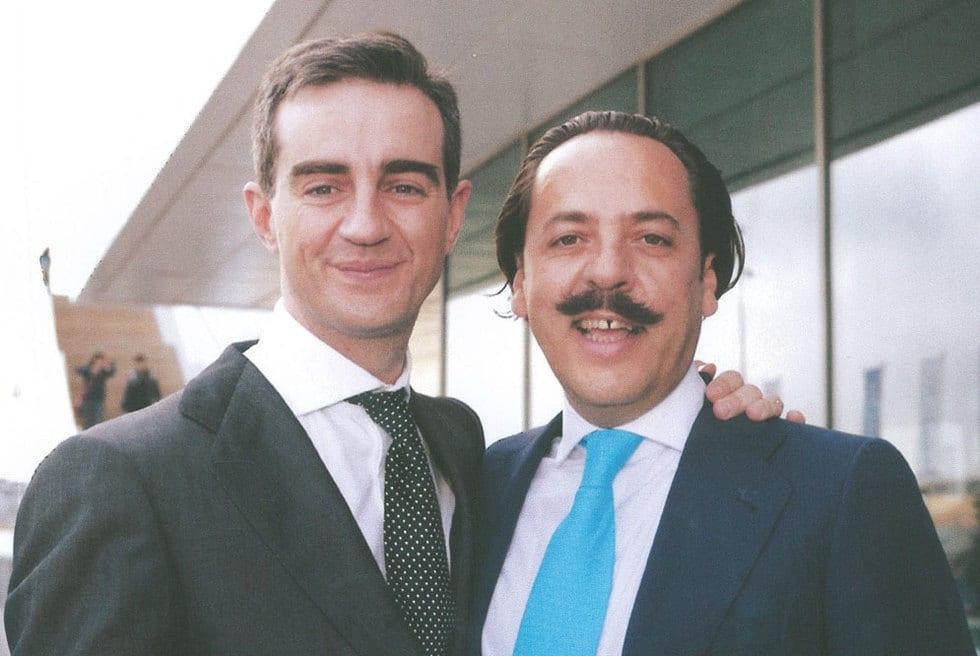 Ricardo Costa y Álvaro Pérez
