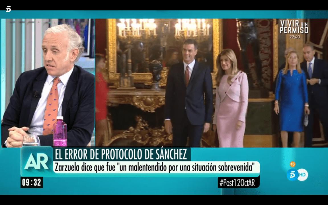 Eduardo Inda en el programa de Ana Rosa de Telecinco