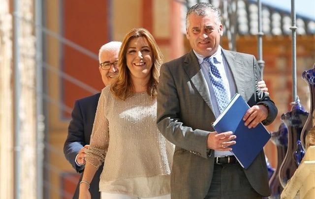 avier Carnero y Susana Díaz