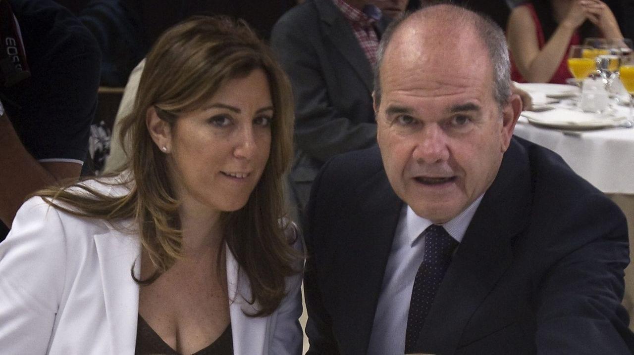 Manuel Chaves y Susana Díaz