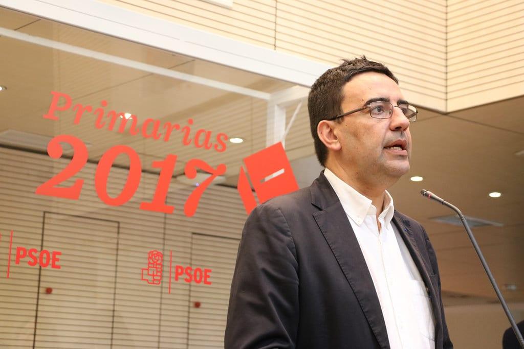 Mario Jiménez, portavoz de la gestora 'susánida' tras el golpe a Pedro Sánchez