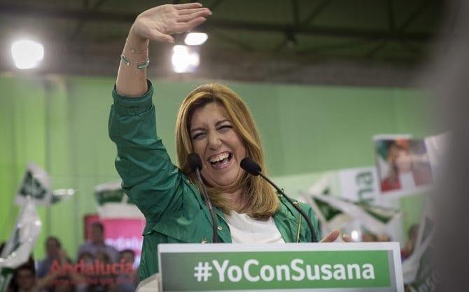 Susana Díaz, ex presidenta de la Junta de Andalucía