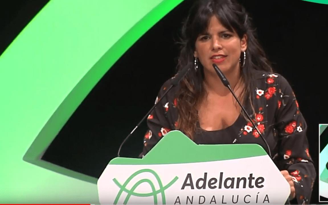 Teresa Rodríguez en Almería