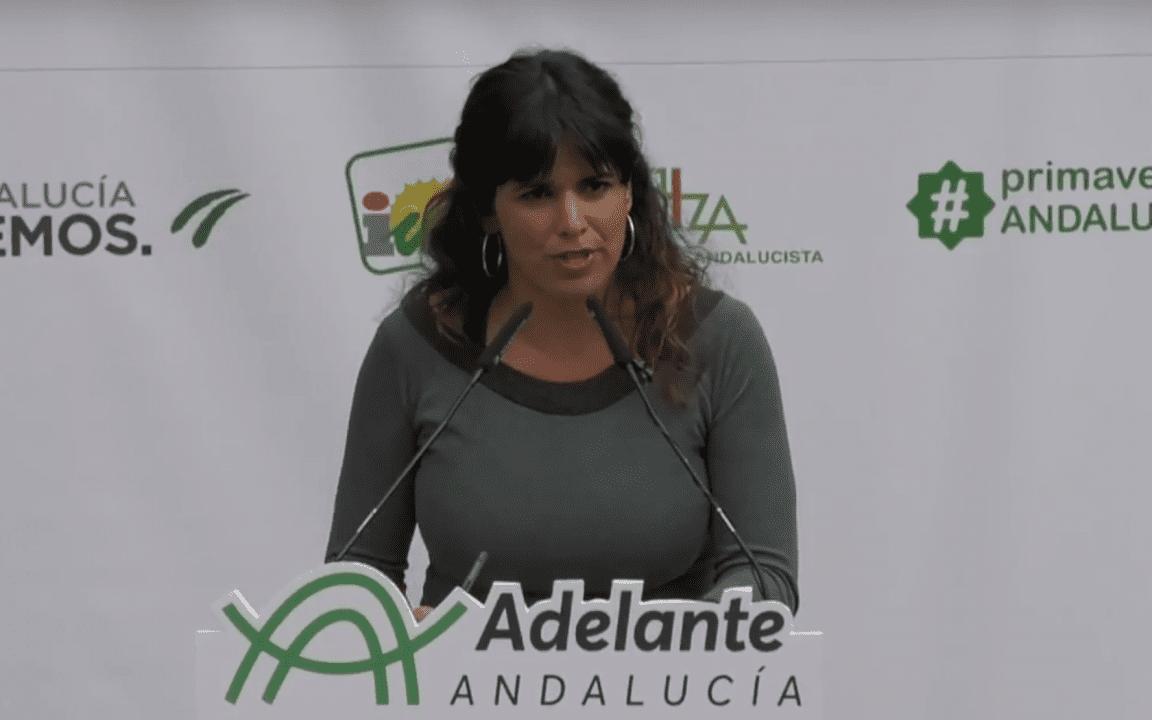 Teresa Rodríguez, líder de Adelante Andalucía