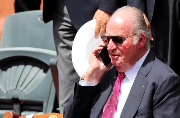 Juan Carlos I ¿trabajando?