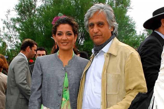Chiquetete y Raquel Bollo