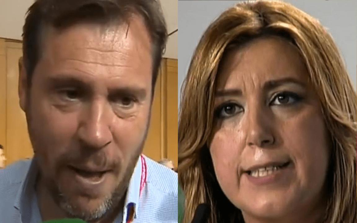 Óscar Puente y Susana Díaz