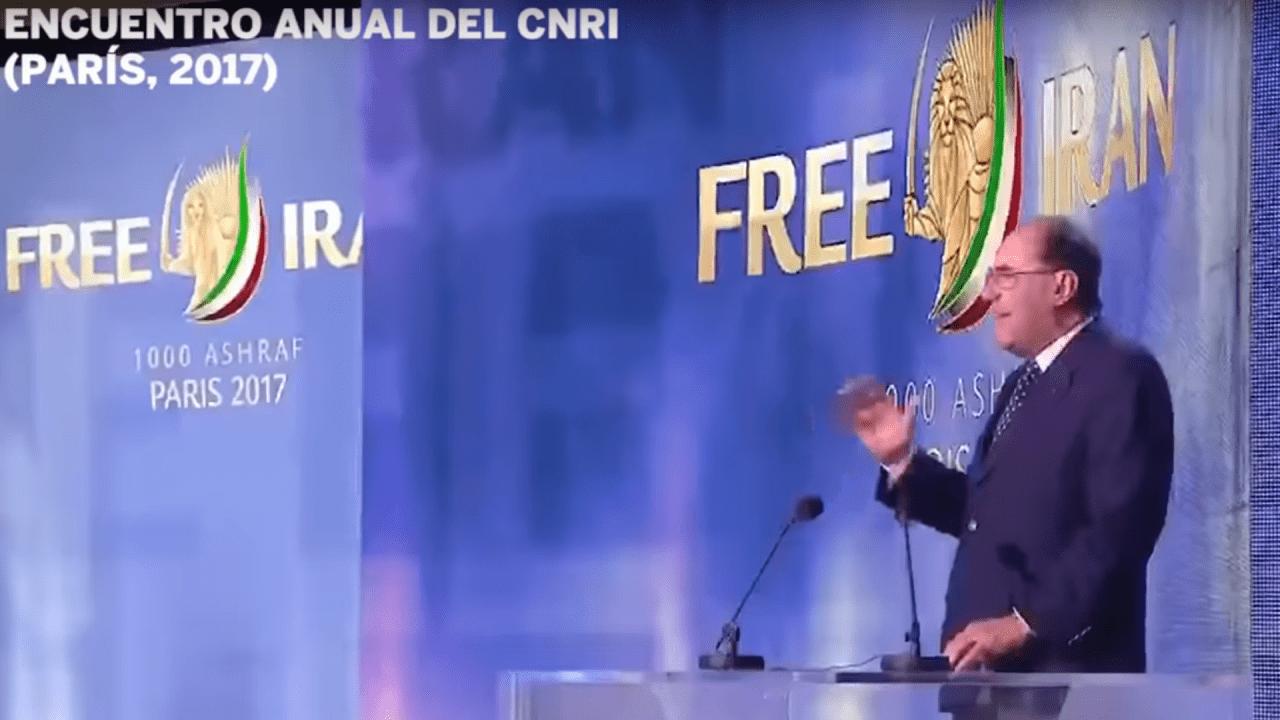 Alejo Vidal-Quadras ante el CNRI. Fuente: Youtube