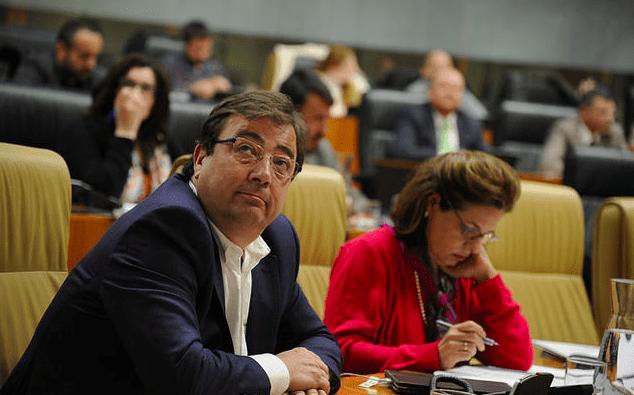 Guillermo Fernández Vara y Pilar Blanco-Morales