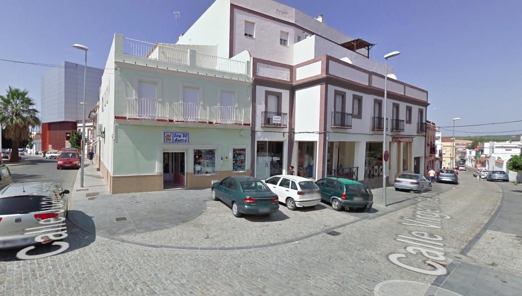 Centro de Burguillos, Sevilla. Fuente: Google Maps