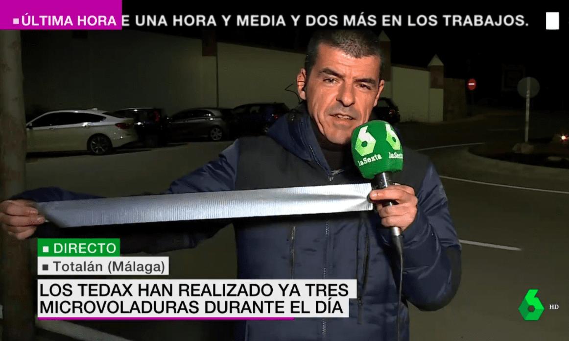 """Manuel Marlaska """"informando"""" para LaSexta"""