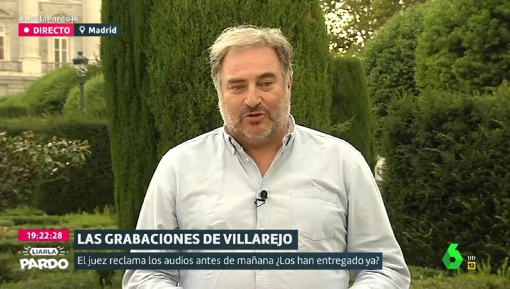 Joaquín Vidal, director de Moncloa.com en La Sexta