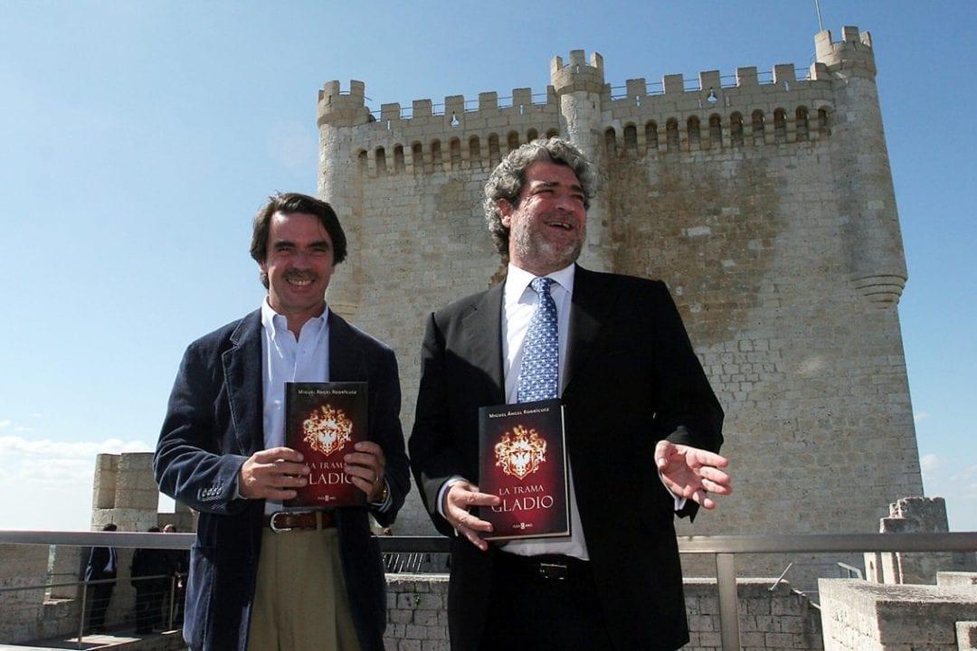 José María Aznar y Miguel Ángel Rodriguez