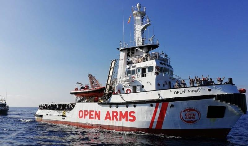Navío Open Arms