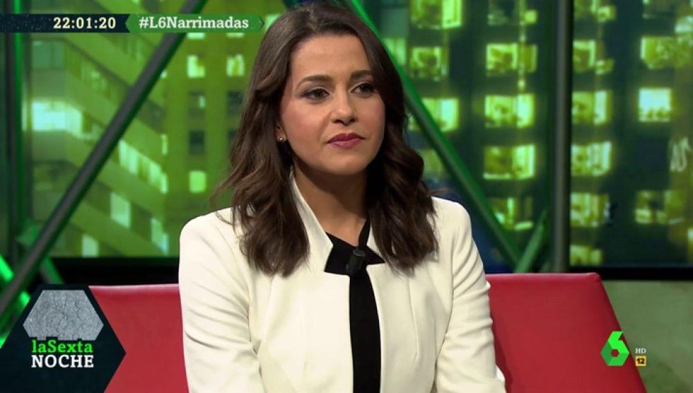 Inés Arrimadas en La Sexta Noche