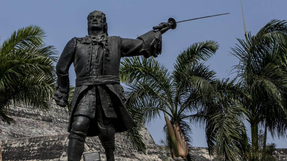 Estatua de Blas de Lezo en Cartagena de Indias