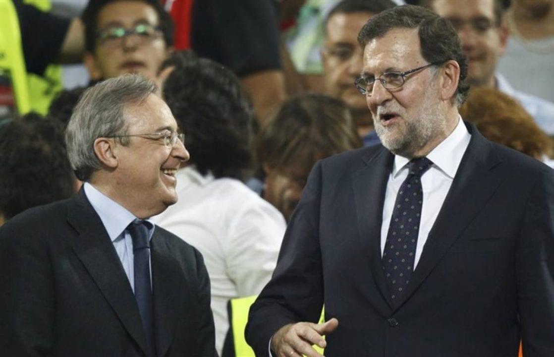 Florentino Pérez y Mariano Rajoy