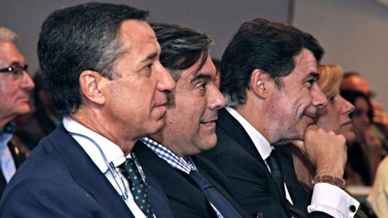 Eduardo Zaplana, Villar Mir e Ignacio González