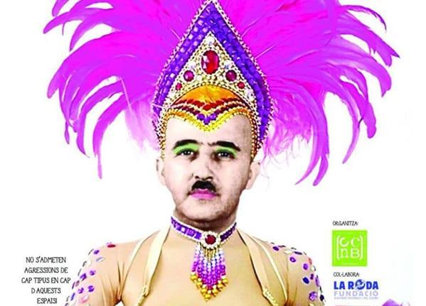 Cartel de Carnaval del Ateneo de Nou Barris en Barcelona