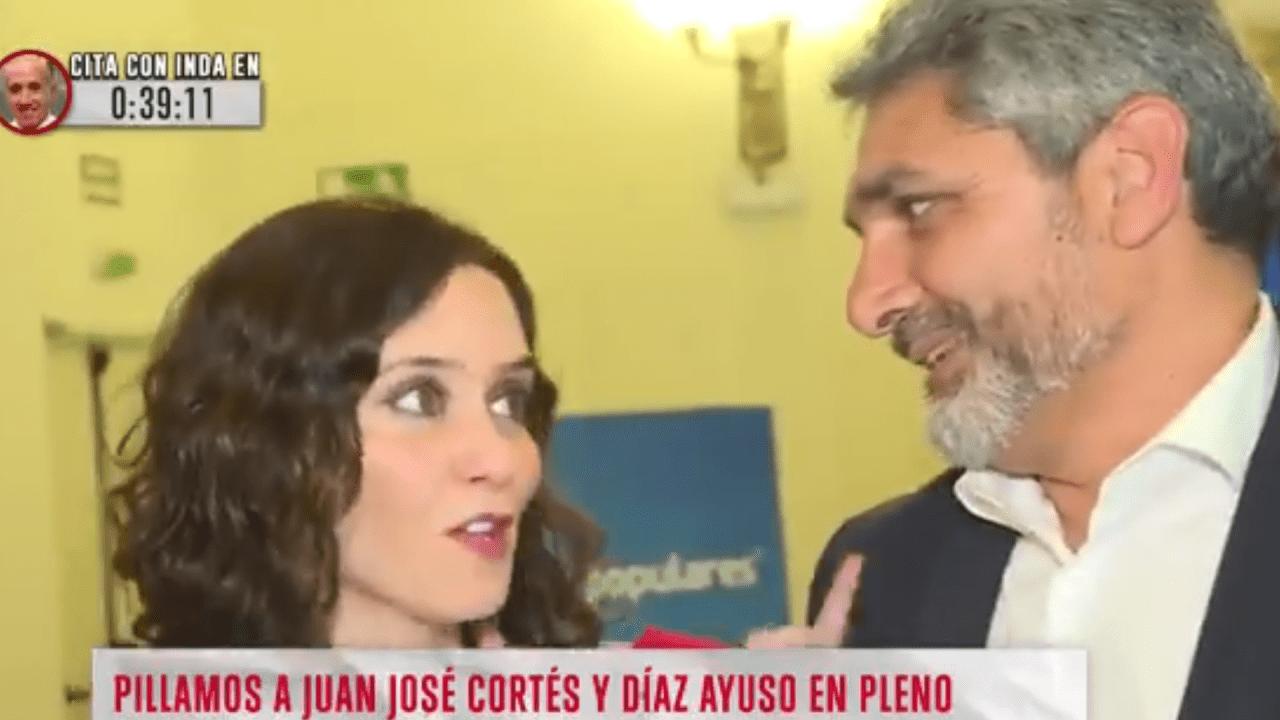 Isabel Díaz Ayuso y Juan José Cortés