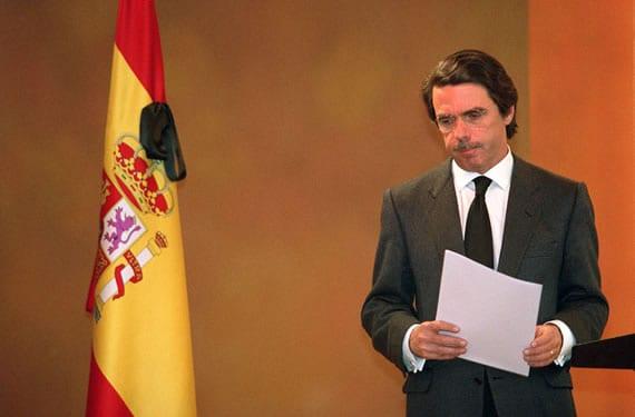 Aznar el 12 de marzo de 2004