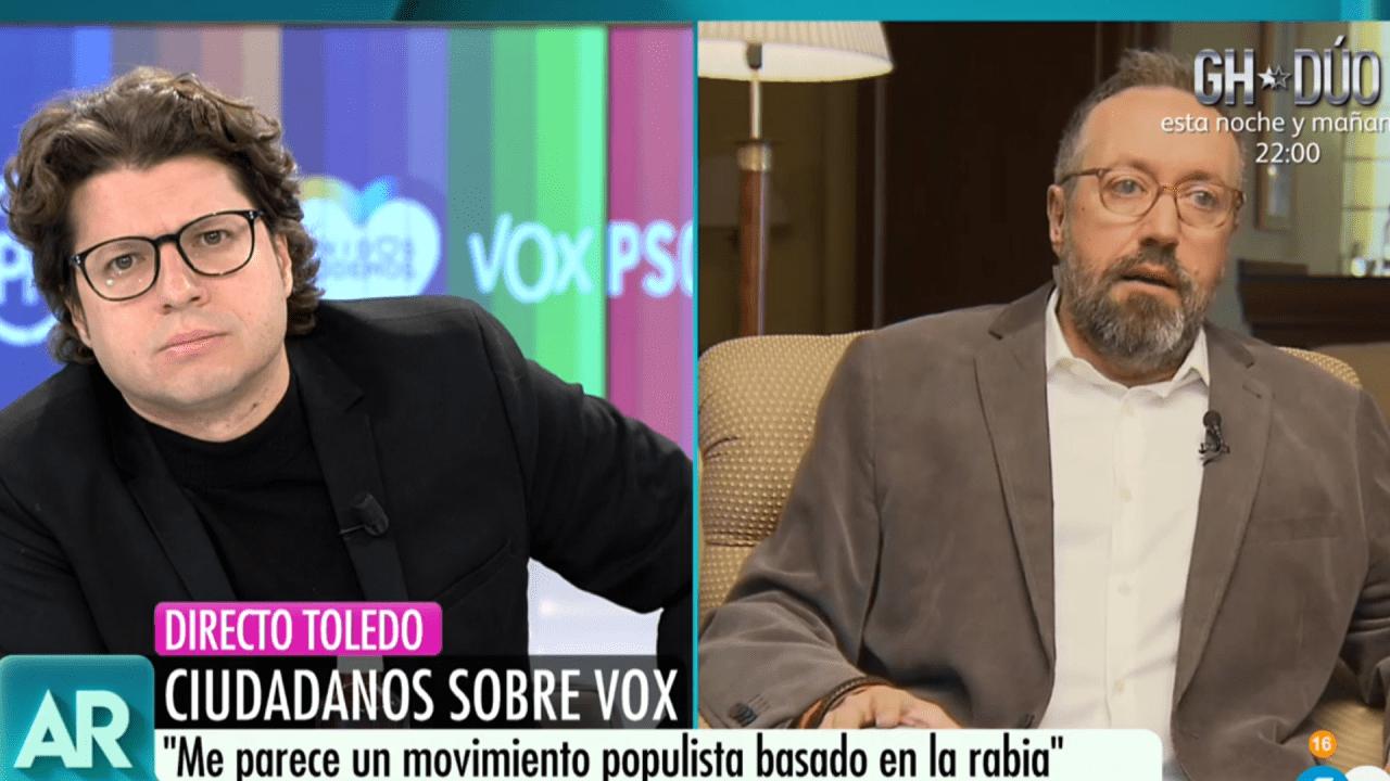 Fernando Berlín y Juan Carlos Girauta en Telecinco
