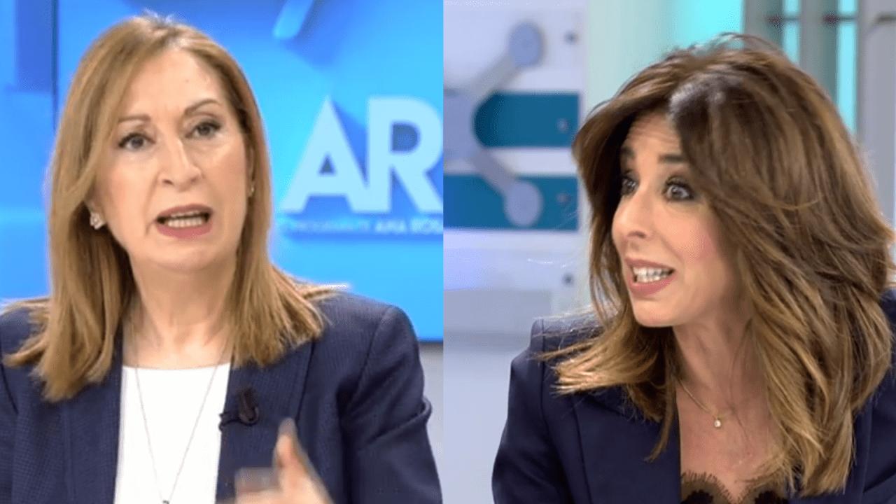Ana Pastor y Ana Terradillos en Telecinco