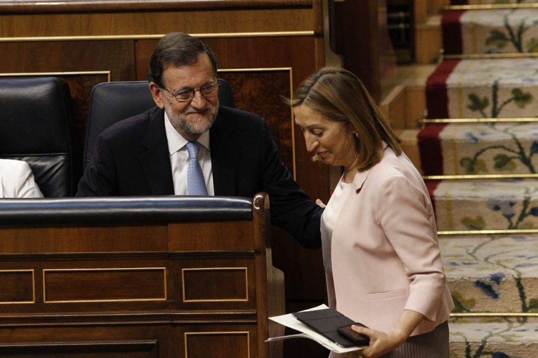 M. Rajoy y Ana Pastor