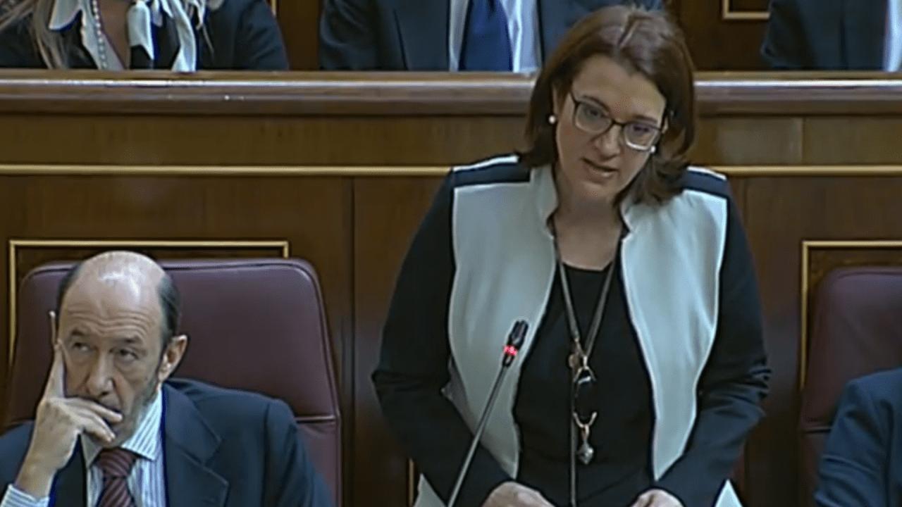 Soraya Rodríguez, 'susánida y ex portavoz parlamentaria de Rubalcaba