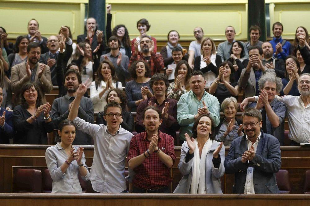 Diputados de Unidos Podemos
